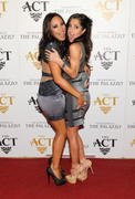 Cheryl Burke &amp;amp; Kelly Monaco -  New Year's Eve party at The Act in Vegas 12/31/12