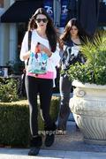 Kendall Jenner Shopping In Calabasas 12/23/11