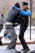 Лили Собески, фото 1168. Leelee Sobieski filming ''Rookies'' in NYC March 22, foto 1168