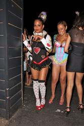 Christina Milian - Leaving Matthew Morrison's Halloween Party in Hollywood